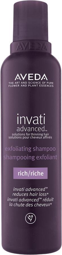 Invati Advanced Exfoliating Shampoo Rich 200ml