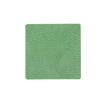 Glass Mat Square Hippo Forest Green