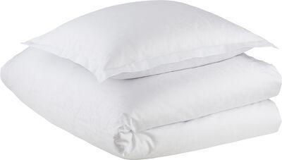 LEAF VINE bed linen, White