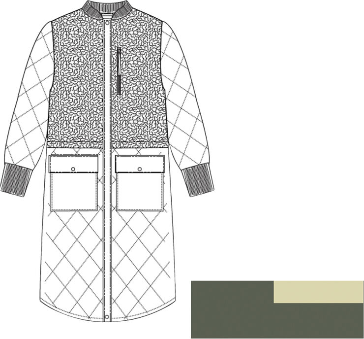 Etta Pile Coat Polyester