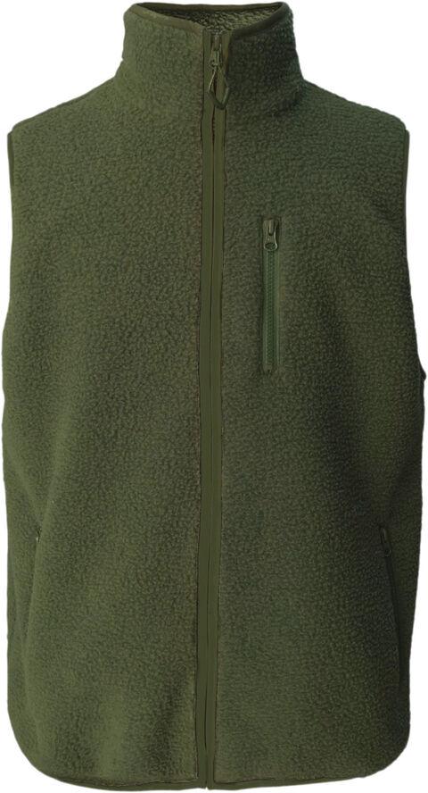 ELM zip teddy fleece sweat