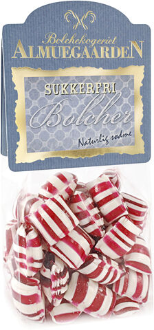 Sukkerfri Pebermynte bolcher med smag af pebermynte