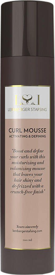 Curl Mousse 200 ml.