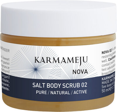 NOVA Salt Body Scrub 02 Travel Size 50 ml.
