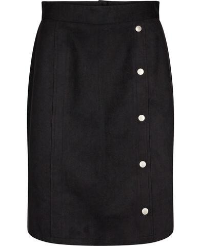 Skirt_ Suede Look