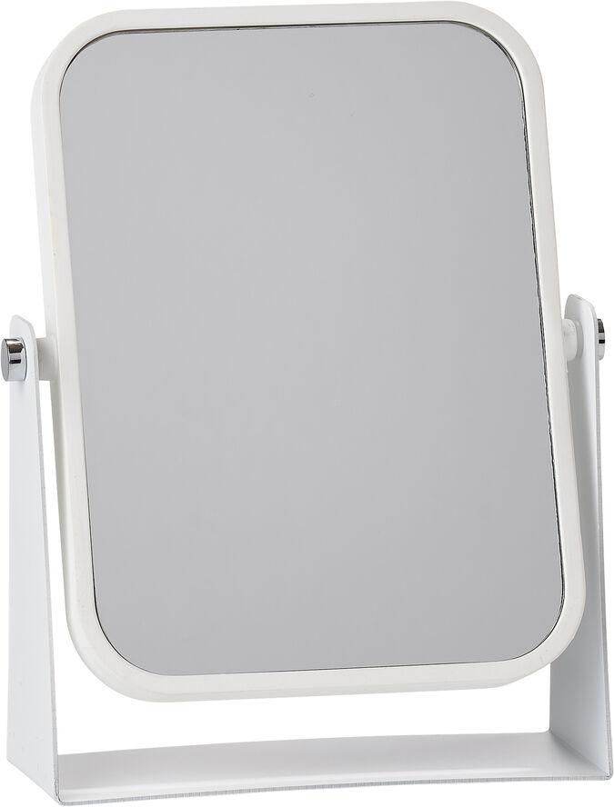 Bordspejl White m. 3 x forstr
