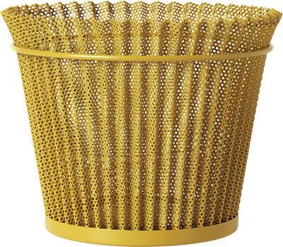 Matégot Flower Pot, Ø21 Mustard Gold Semi Matt