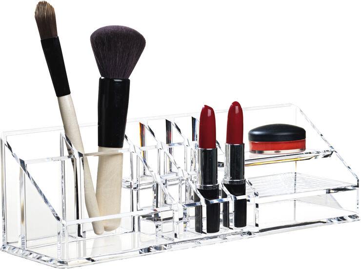 Clear make-up organizer