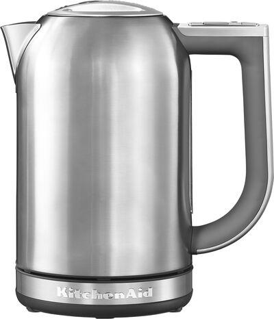 Elkedel 1,7 liter rustfri stål