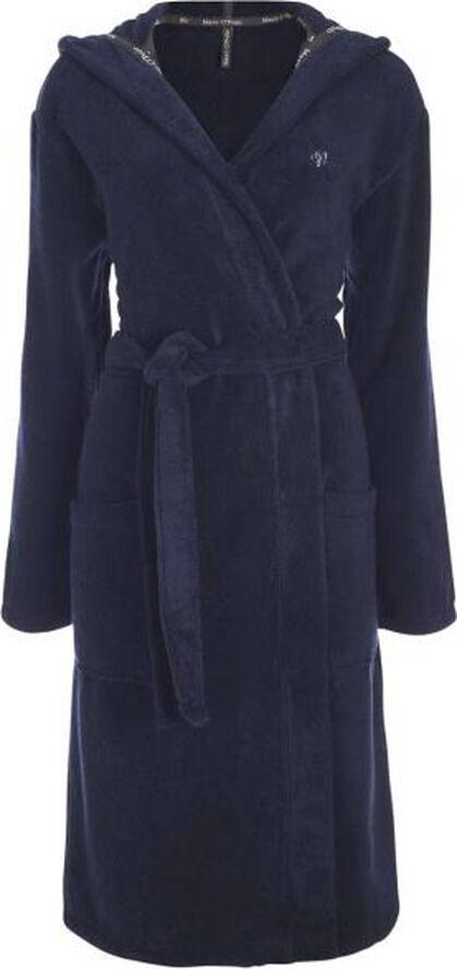 Classic (With Hood) bathrobe S Navy