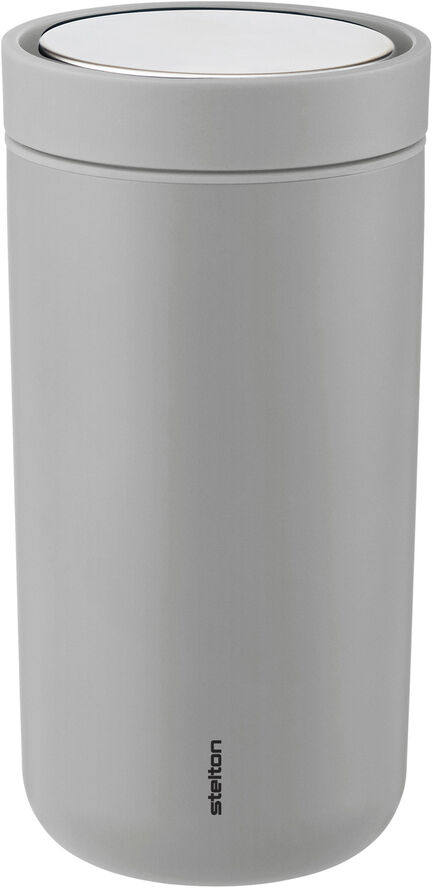 To Go Click d. steel, 0,2 l. - mat light grey