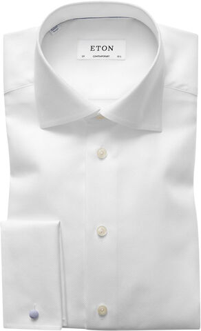 Twill French Cuff Shirt Contemporary fit