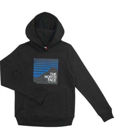 Y BOX P/O HOODIE TNF BLACK/HERO BLU