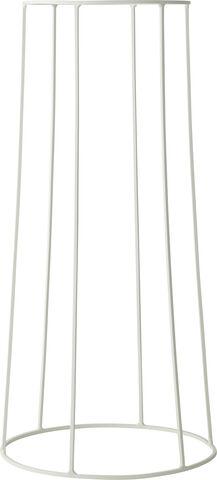 Wire Base, 202, White