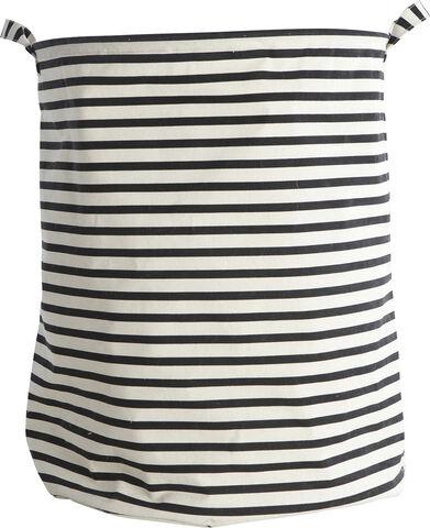 Vasketøjspose med striber - Ls0120