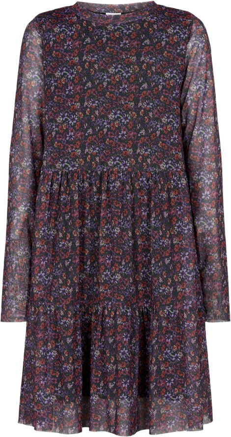 FATMA L_S MESH DRESS EXP