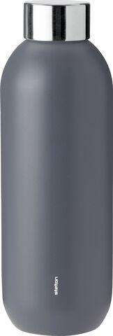 Keep Cool d. steel termoflaske, 0,6 l. - granite grey