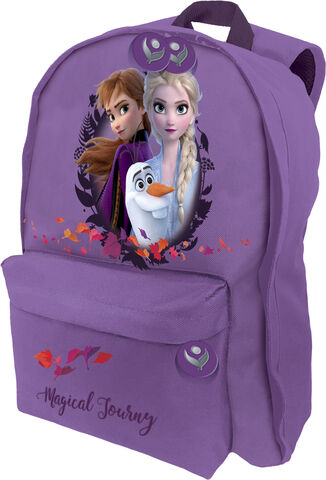 Backpack with front zipped pocket, 300D nylon, with padded a