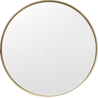 Darkly, Mirror, M, Brushed Brass