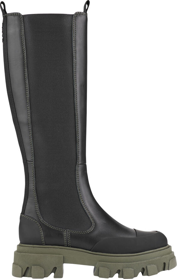 S1626 Knæhøje Chelsea støvler