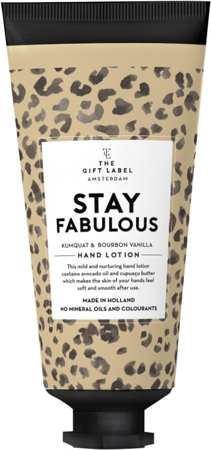 Hand lotion tube -Stayfabulous