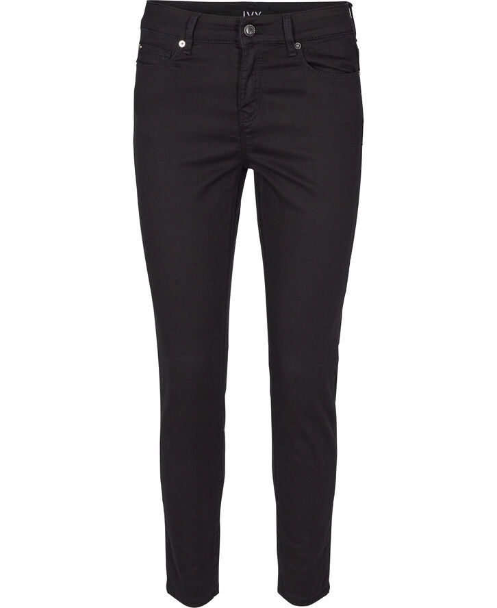 Alexa ankle jeans seriously black