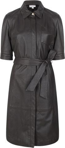Chandler leather dress