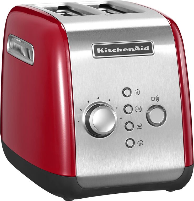 Toaster 2 skiver rød