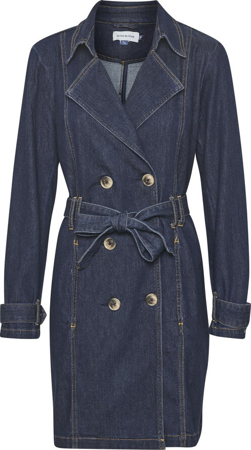 DHMay Denim Trenchcoat