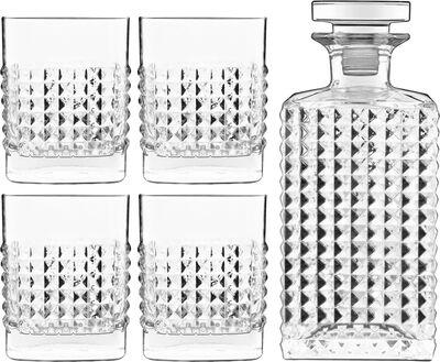 Elixir whiskysæt 5 dele