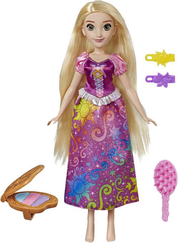 Disney Princess Rainbow Hair Rapunzel
