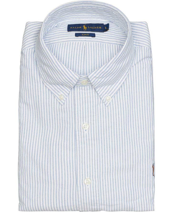 Slim Fit Oxford Skjorte