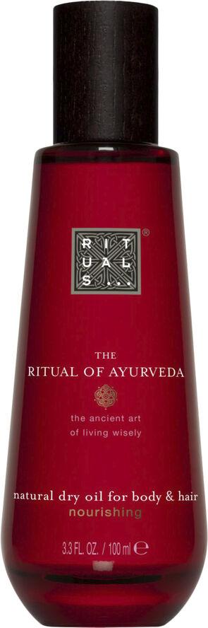 The Ritual of Ayurveda Dry Oil VATA tør kropsolie 100 ml
