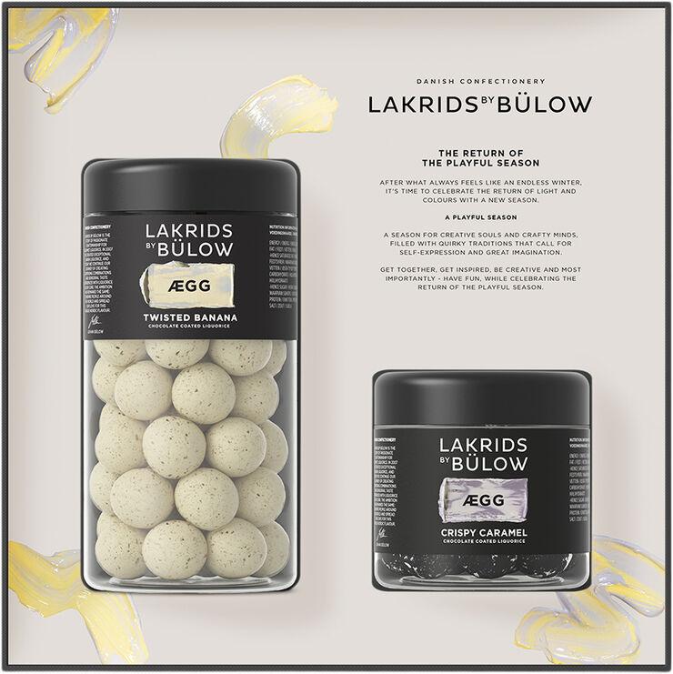BLACK BOX ÆGG REGULAR/SMALL TWISTED BANANA/CRISPY CARAMEL