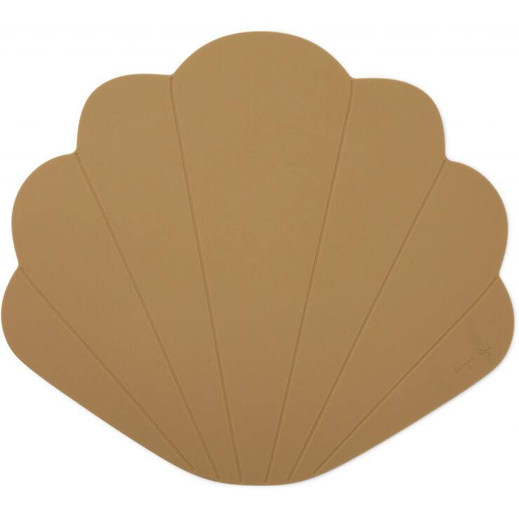 SILICONE PLACEMAT CLAM