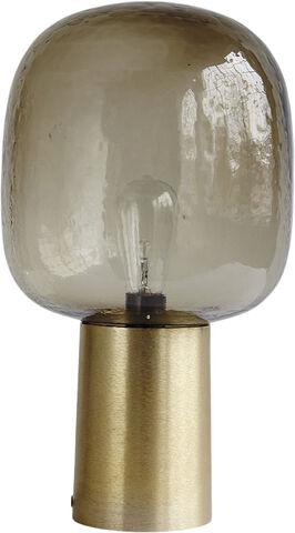 Bordlampe, Note, Grå/Messing, dia: - Cb0160