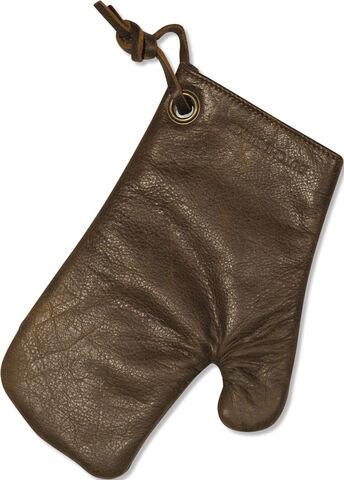 Oven Glove Vintage Brown