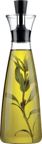 Olie-/eddikeflaske, drypfri 0,5 l.