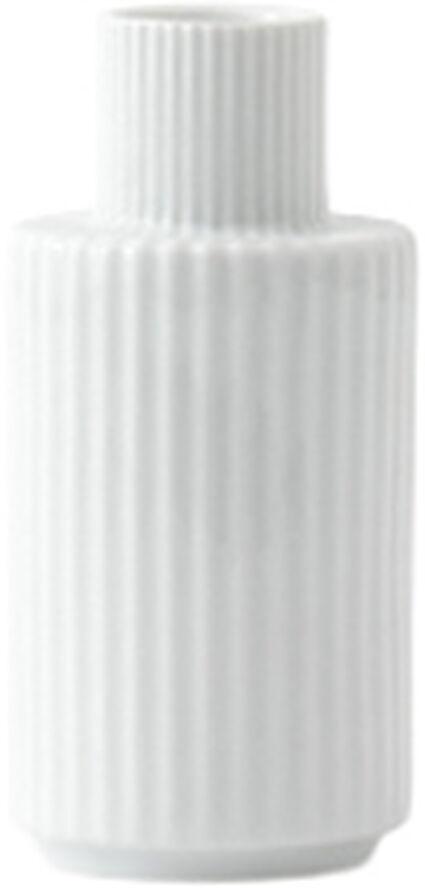Lyngby Kronelysestage H11 hvid porcelæn