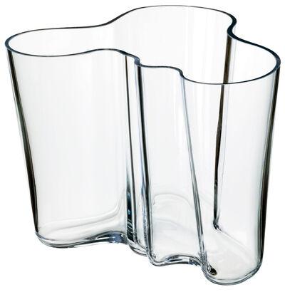 Aalto 16cm. vase klar