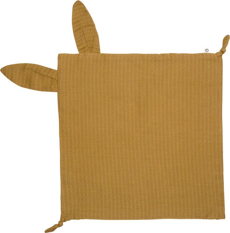 Muslin rabbit blankie