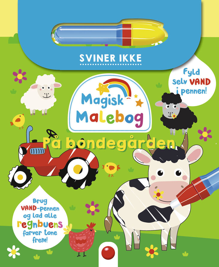 Magisk malebog: På bondegården