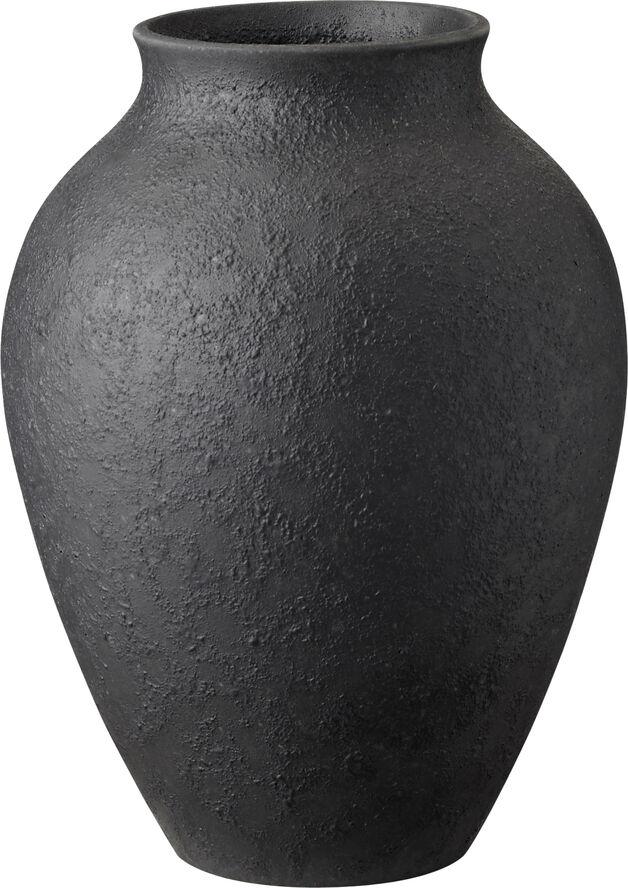 Knabstrup vase, antracitgrå, 20 cm