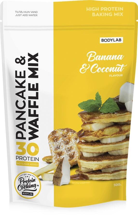 Protein Pancake Mix Banana Coconut