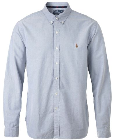 Slim Fit Oxford Skjorte