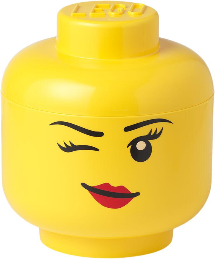 LEGO STORAGE HEAD LARGE - WINKING