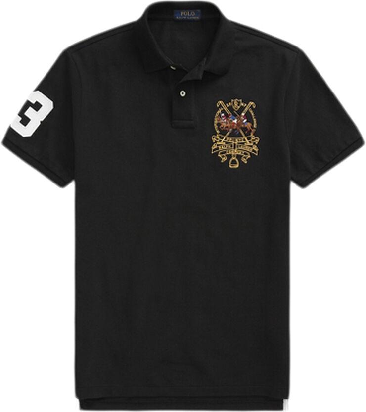Custom Slim Fit Triple-Pony Polo Shirt