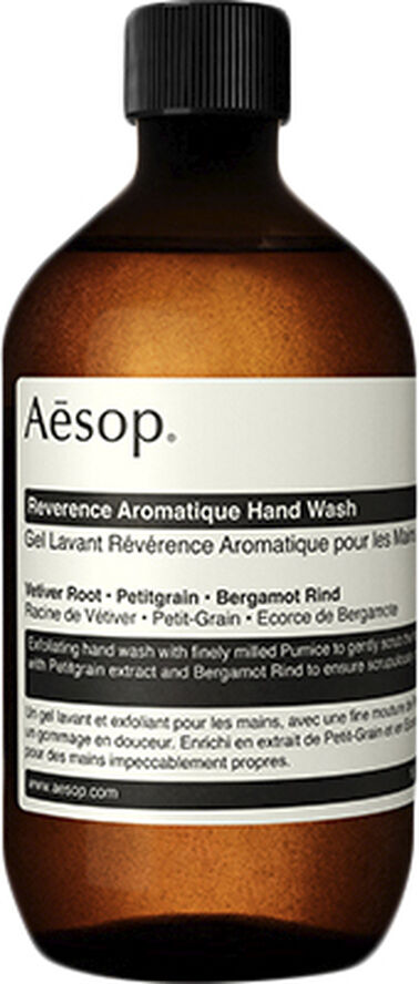 Reverence Aromatique Hand Wash 500mL with Screw Cap