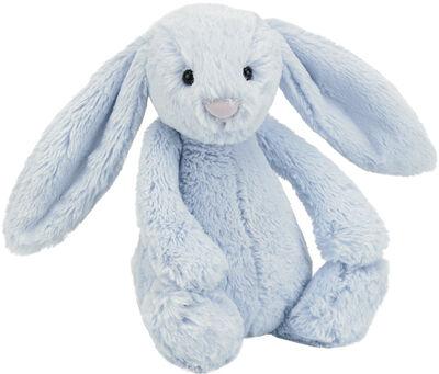 Bashful blue bunny