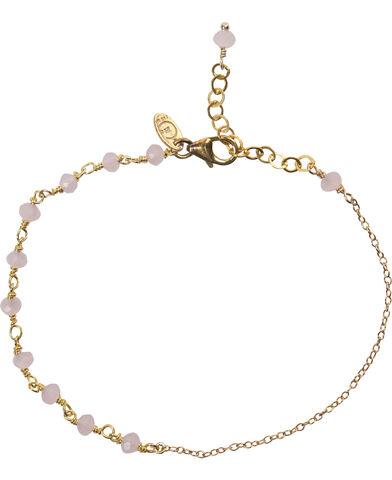 Anne Rose Quartz Bracelet - Gold